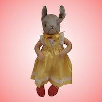 Vintage Kersa Bunny Rabbit, No Id's