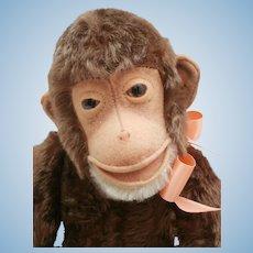 Gorgeous Steiff Jocko Monkey, Steiff Button