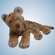 Steiff Tiger Cub, 1968 to 1978, No Id's