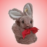 Steiff 'Cosy Mummy' Rabbit , 1959 to 1964, Steiff Button