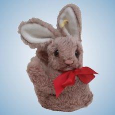 Steiff 'Cosy Mummy' Rabbit , 1959 to 1964, Steiff Button