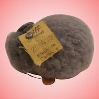 Sweet Steiff Woolen Mouse, 1952 to 1958, Steiff Button