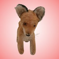 Steiff Xorry Fox, No Id's 1960 to 1964