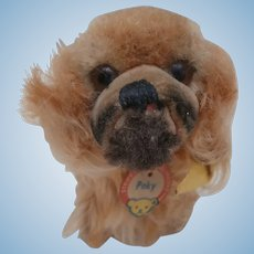 Steiff Smallest Size Peky Pekingese Dog, All Id's