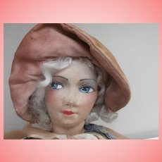 Unusual Cloth  Half Bed / Boudoir  Doll A/F