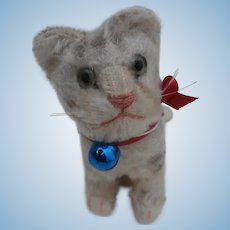 Well Loved Steiff Susi Cat, No Id's 1959 to 1964