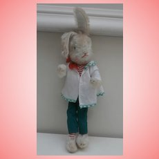Small Schuco Bigo Bello Rabbit , Squeaker Works