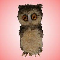 Steiff Wool Owl, 1971 to 1984, Steiff Button