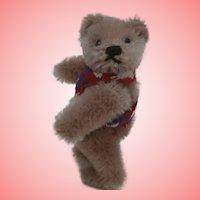 Stanley  Steiff Miniature Teddy Bear, No Id's