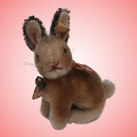 Steiff Sonny Rabbit, Steiff Button and Tag 1959 to 1964