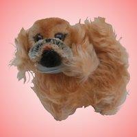 Steiff Peky,  Pekingese Dog No Id's , 1965 to 1976