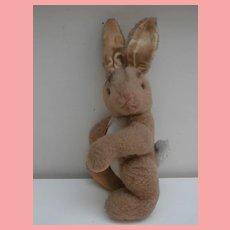 Vintage Hermann Bunny Rabbit,  Hermann Label