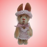 Lucy, Lovely VIntage Schuco  Rabbit