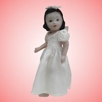 Chad Valley Snow White Doll, Chad Valley Label.