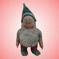Chad Valley Doll,  Bashful, Larger Dwarf from Snow White