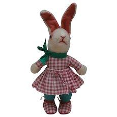 Gorgeous Vintage Bunny Rabbit Doll