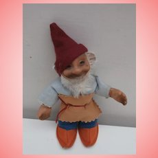 Steiff Gucki Dwarf Doll , No Id's. 1959 to 1964, A/F