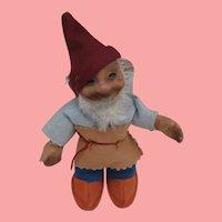 Steiff Gucki Dwarf Doll , No Id's. 1959 to 1964, A/F