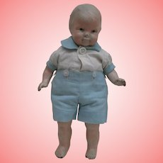 Poor Grace Corry Rockwell Composition Doll  ' Little Brother'