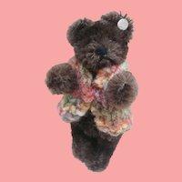 Martin, Gorgeous Vintage  Steiff Miniature Teddy Bear, Steiff Button