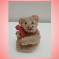 Cute  Earlier Steiff Miniature Teddy Bear, No Button