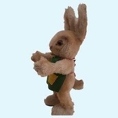 Steiff Ossili Rabbit 1962 to 1967, Steiff Button