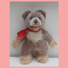 Rare Steiff Lully Baby Bear, Smallest Size, 1966 to 1977, No Id's, Carmel