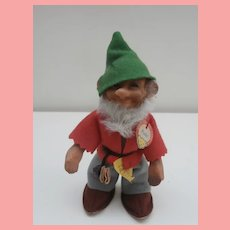 Lovely Steiff Pucki Dwarf Doll, 1959 to 1967, All Steiff Id's