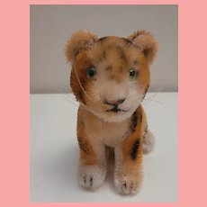 Steiff Tiger . 1951 to 1961, No Id's