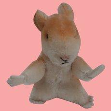 Steiff Goldy  Hamster,  1968 to 1974, Steiff Button