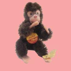 Small Steiff Jocko Flexible Monkey, 1968 to 1990, All I's