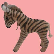 Steiff Zebra , Steiff Chest Tag 1959 to 1964