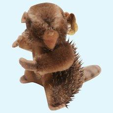 Steiff Smallest Nagy Beaver 1965 to 1967, All Id's