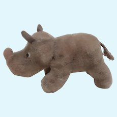 Steiff Nosy Rhinoceros, 1959 to 1964, No Id's