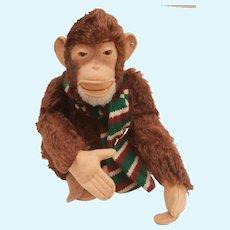 Steiff Vintage  Jocko Monkey, Steiff Button