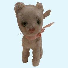 Steiff Lizzy Cat 1968 to 1976, No Id's