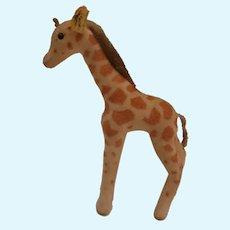 Steiff Giraffe 1959 to 1964, Steiff Button