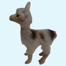 Steiff Llama , Lama 1959 to 1964, No Id's