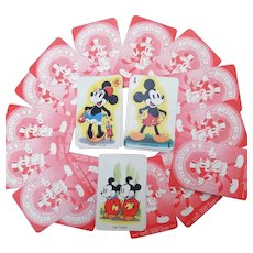 Mickey Mouse Playing Cards 1930's