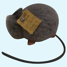 Steiff Wool Pompom Mouse, Steiff Button ,1952 to 1958