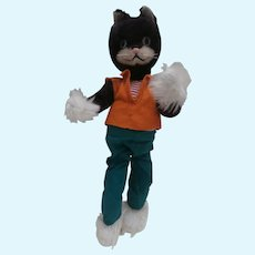 Vintage Schuco Comical  Bigo Bello Pussy Cat