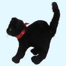 Vintage Lucky Black Cat , A/F
