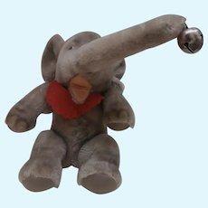 Steiff Jumbo Elephant, 1966 to 1975, No Id's