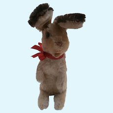 Large Steiff Manni Bunny Rabbit .  1959 to 1964.  No Id's
