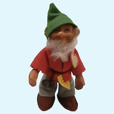 Steiff Pucki Dwarf Doll, 1959 to 1964, Steiff Button and Chest Tag