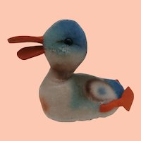 Smallest Size Steiff Play Duck.1965 to 1967, Working Squeaker, No Id's