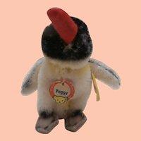 Smallest Size Steiff Peggy Penguin ,1959 to 1964, All Steiff Id's