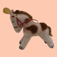 Steiff Smallest Pony 1959 to 1964, Steiff Button