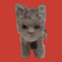 Steiff Tabby Cat, Steiff Chest Tag , 1959 to 1964 A/F