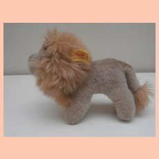 Steiff Leo Lion, 1985 to 1990. Steiff Button and Chest Tag